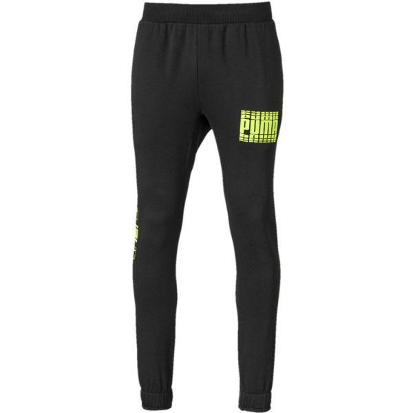 Puma REBEL BOLD PANTS CL FL černá M - Pánské sportovní tepláky
