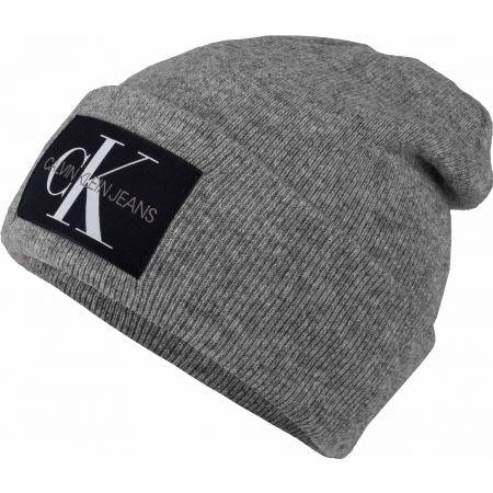 Мъжка шапка - Calvin Klein J BASIC MEN KNITTED BEANIE - 1