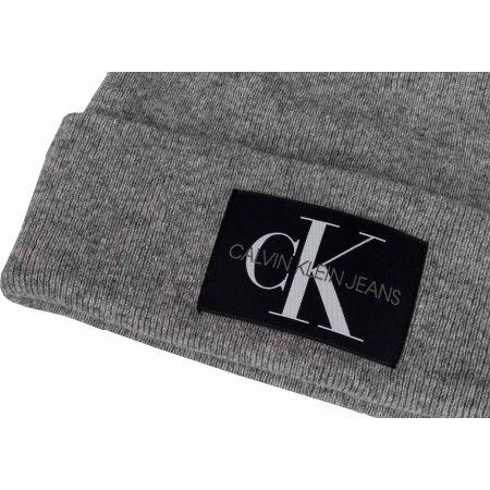 Мъжка шапка - Calvin Klein J BASIC MEN KNITTED BEANIE - 3