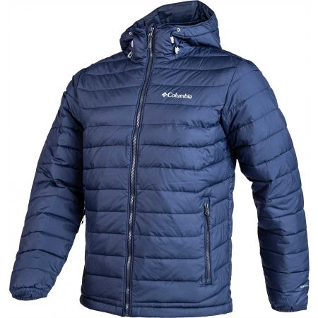 Férfi kabát - Columbia POWDER LITE HOODED JACKET - 2