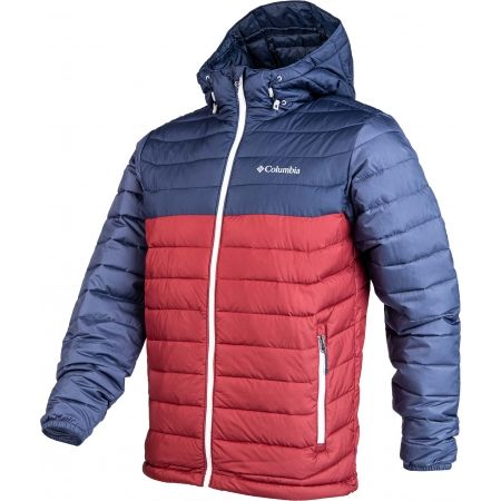 Pánská bunda - Columbia POWDER LITE HOODED JACKET - 2