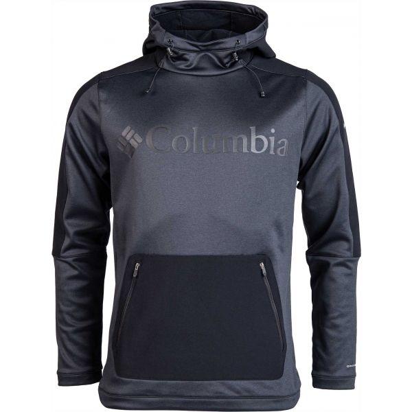 Columbia MAXTRAIL MIDLAYER TOP černá L - Pánská outdoorová mikina