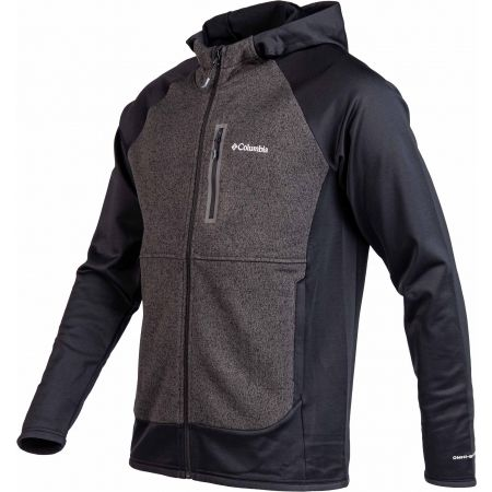 Hanorac fleece bărbați - Columbia ALTITUDE ASPECT HOODY HYBRID FLEECE - 2
