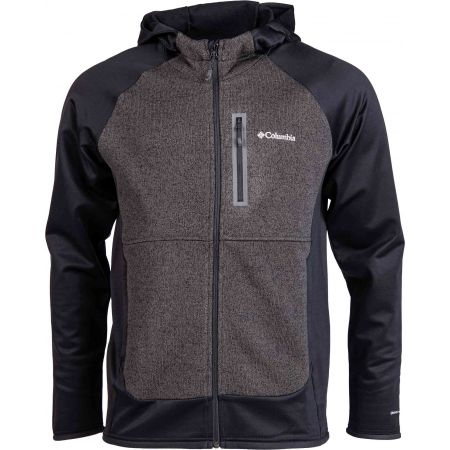 Columbia ALTITUDE ASPECT HOODY HYBRID FLEECE - Мъжки  суитшърт от флийс