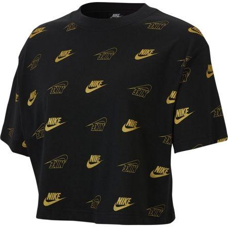 Nike NSW TOP SS CROP BFF SHINE W - Dámsky top