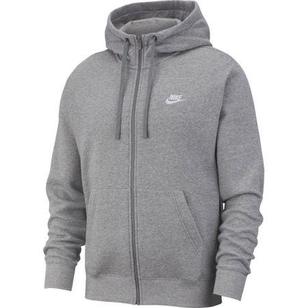 Pánska mikina - Nike NSW CLUB HOODIE FZ BB M - 1