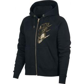 Nike NSW HOODIE FZ BB SHINE W - Dámská mikina
