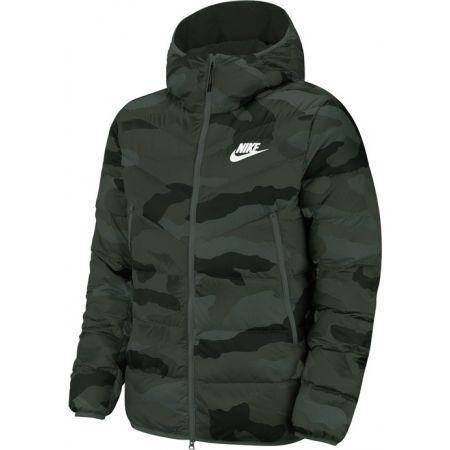Pánská bunda - Nike NSW DWN FILL WR JKT HD AOP M - 1