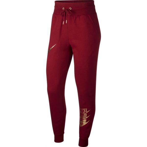Nike NSW PANT BB SHINE W - Dámske tepláky