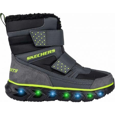 Chlapčenská zimná obuv - Skechers HYPNO FLASH 2.0 - 3