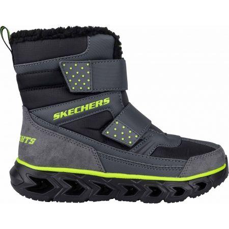 Chlapčenská zimná obuv - Skechers HYPNO FLASH 2.0 - 5