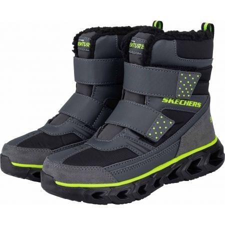Chlapčenská zimná obuv - Skechers HYPNO FLASH 2.0 - 2