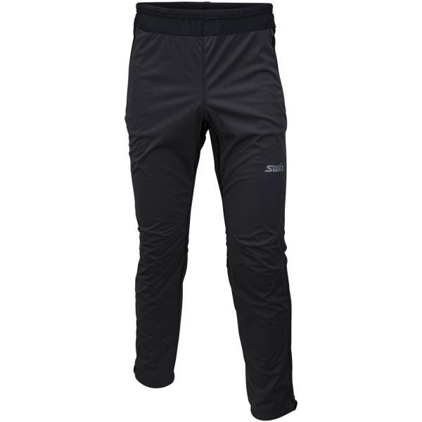 Swix CROSS černá XL - Pánské softshellové kalhoty