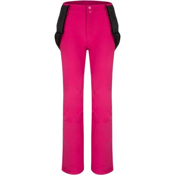 Loap LYDDI růžová L - Dámské softshellové kalhoty