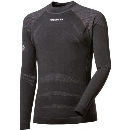Progress MRN SEAMLESS LS-M - Pánske funkčné tričko
