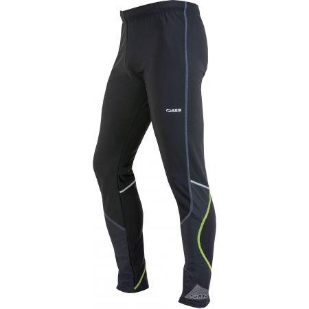 Pánské zimní běžecké kalhoty - Axis KALHOTY BEZKY M - 2