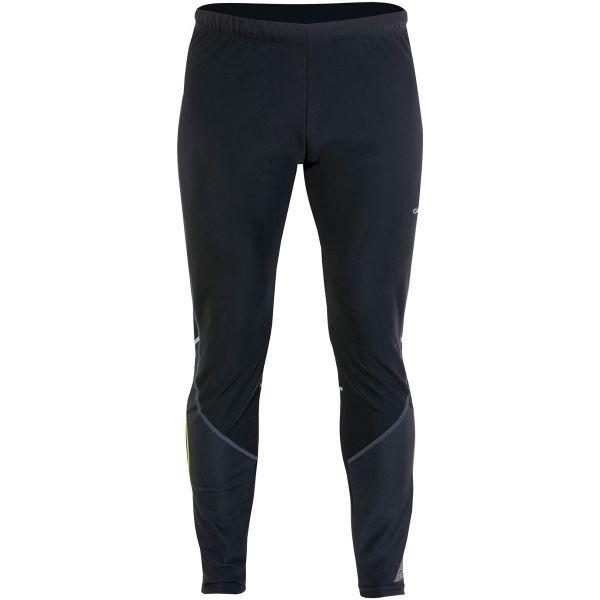 Axis NOHAVICE BEŽKY M čierna M - Pánske zimné bežecké nohavice