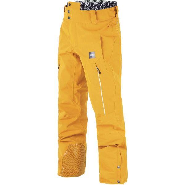 Picture OBJECT žltá L - Pánske zimné nohavice