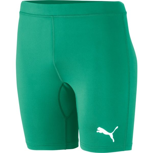 Puma LIGA BASELAYER SHORT TIGHT zielony S - Bielizna męska