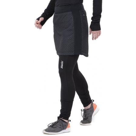 Krátká prošívaná sukně - Swix MENALI - 2