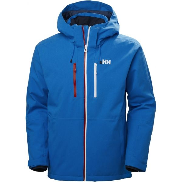 Helly Hansen JUNIPER 3.0 JACKET modrá S - Pánská lyžařská bunda