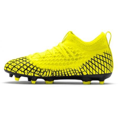 Детски футболни обувки - Puma FUTURE 4.3 NETFIT FG/AG JR - 3