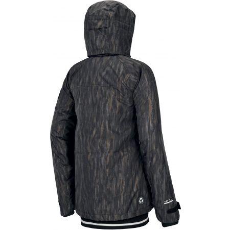 Dámská zimní bunda - Picture LANDER PRINT - 2