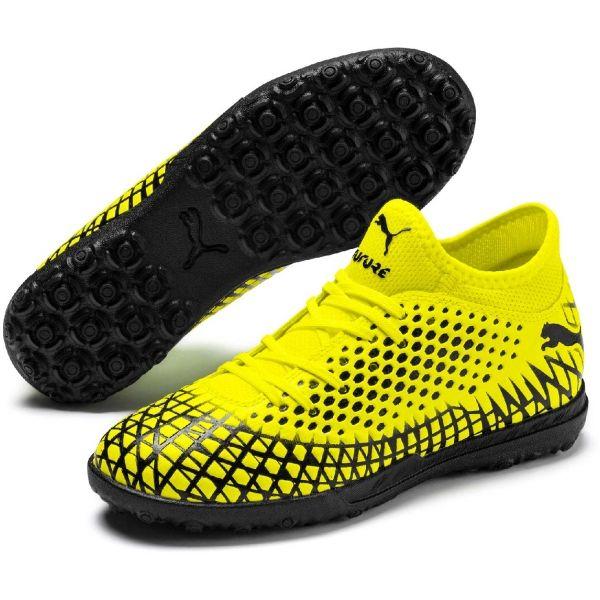 Puma FUTURE 4.4 TT JR sárga 2.5 - Fiú turf futballcipő