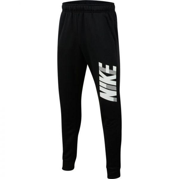 Nike DRY GFX TAPR PANT B czarny XL - Spodnie dresowe chłopięce