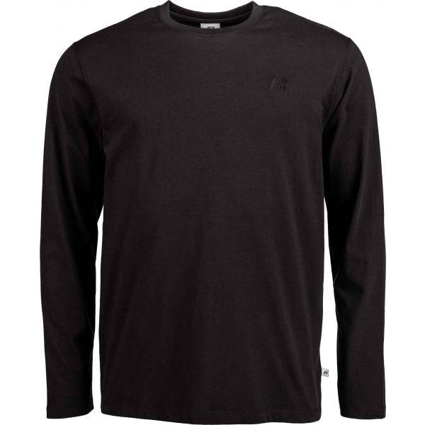 Russell Athletic L/S CREWNECK TEE SHIRT černá XL - Pánské tričko