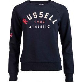 Russell Athletic BADGED-CREWNECK RAGLAN SWEATSHIRT - Hanorac damă