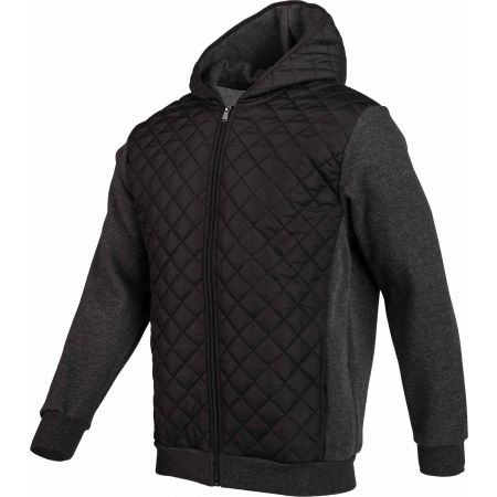 Pánská mikina - Russell Athletic QUILT-HOODED BOMBER JACKET - 2