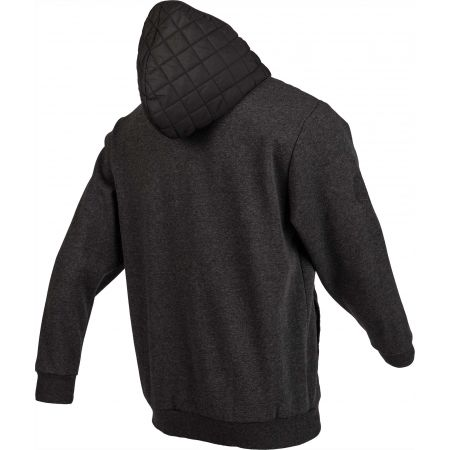 Pánská mikina - Russell Athletic QUILT-HOODED BOMBER JACKET - 3