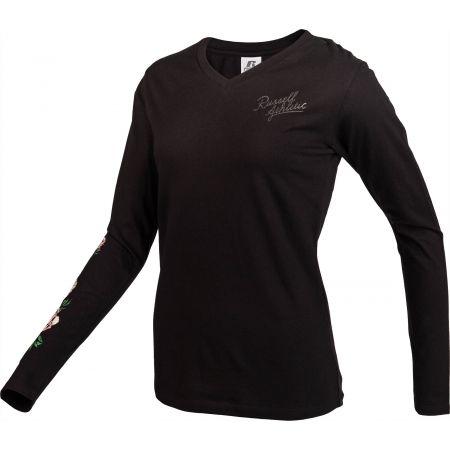 Dámské triko - Russell Athletic L/S CREWNECK TEE SHIRT - 2