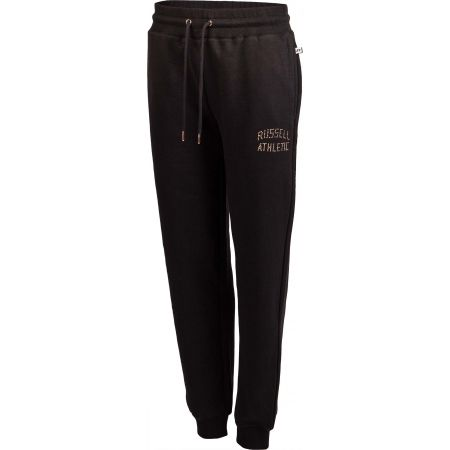 Dámske tepláky - Russell Athletic CUFFED PANT ICONIC ARCH LOGO - 2