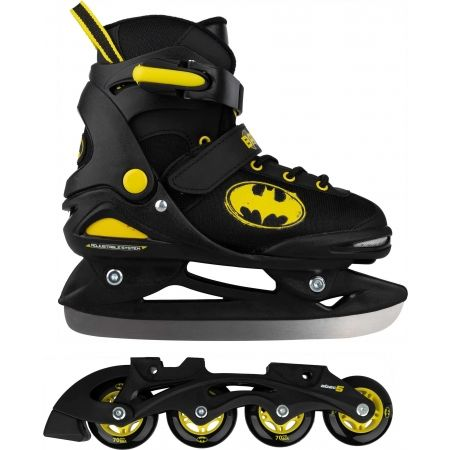 Warner Bros BATMAN 2 IN 1 - Boys in-line and ice skates in one
