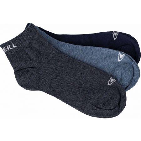Unisex ponožky - O'Neill QUARTER 3P - 1