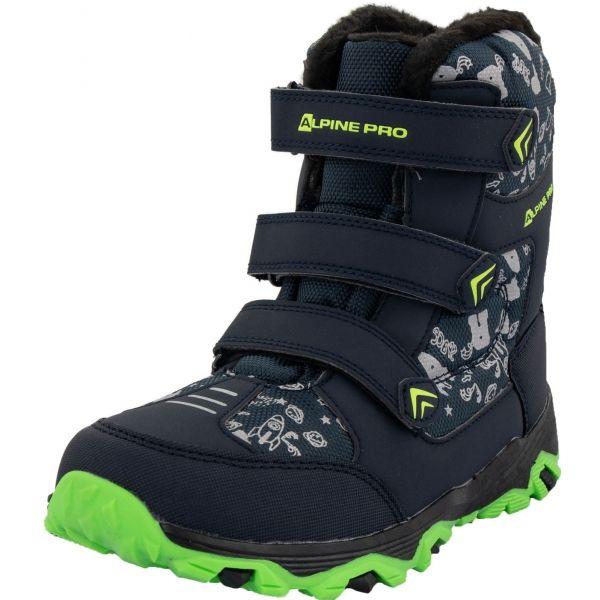 ALPINE PRO TRISTO - Detská zimná obuv