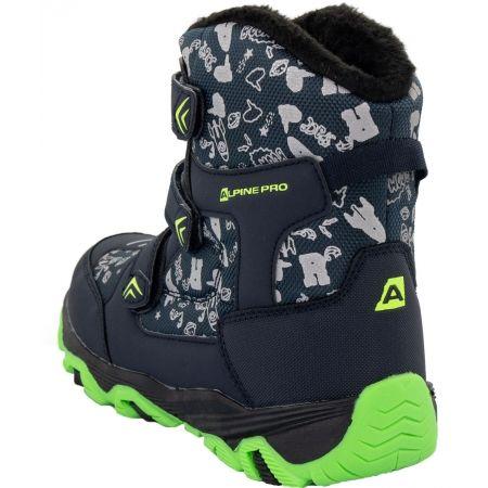 Dětská zimní obuv - ALPINE PRO TRISTO - 4