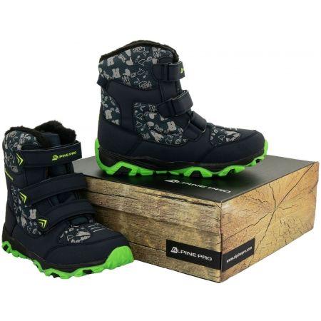 Dětská zimní obuv - ALPINE PRO TRISTO - 5