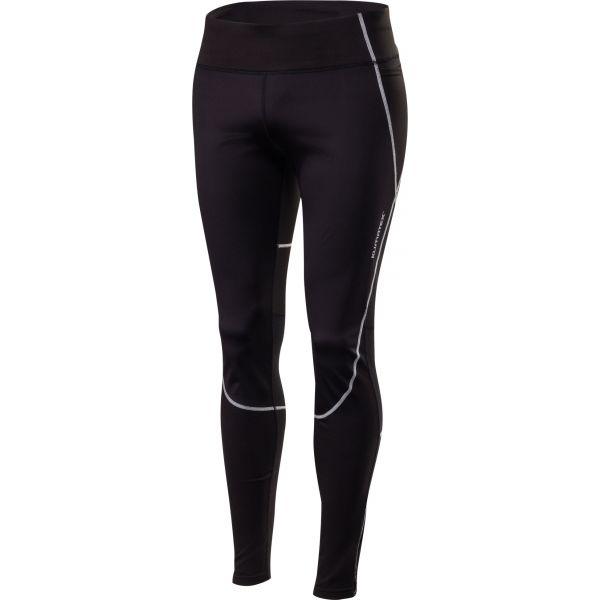 Klimatex MORCO fekete S - Férfi szélálló legging futáshoz