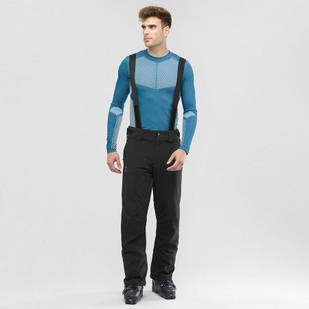 Pánské lyžařské kalhoty - Salomon STORMSEASON - 6