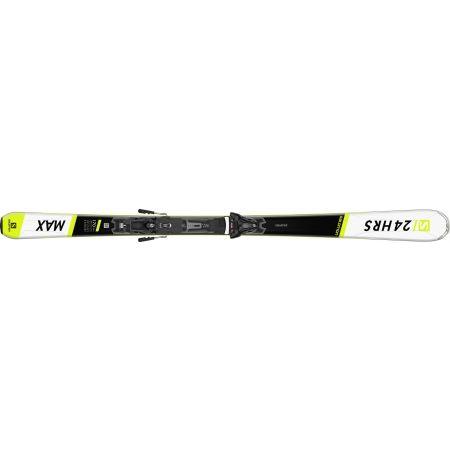 Unisex sjezdové lyže - Salomon 24 HOURS MAX + Z12 GW - 2