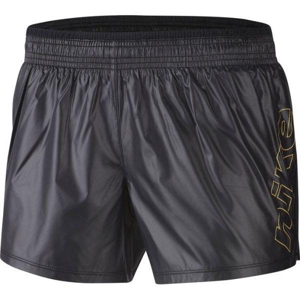 Nike 10K SHORT GLAM GX W czarny M - Spodenki do biegania damskie