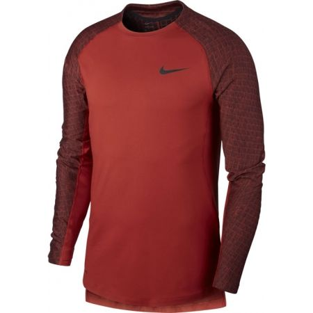 Nike NP TOP LS UTILITY THRMA M - Koszulka męska z długim rękawem