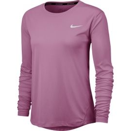 Nike MILER TOP LS W - Tricou alergare damă