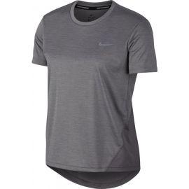 Nike MILER TOP SS W - Дамска тениска за бягане