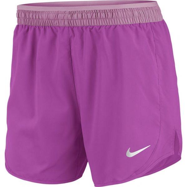 Nike TEMPO LUX růžová XL - Dámské běžecké kraťasy