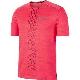 Nike DRY MILER SS EDGE GX PO M - Pánske bežecké tričko