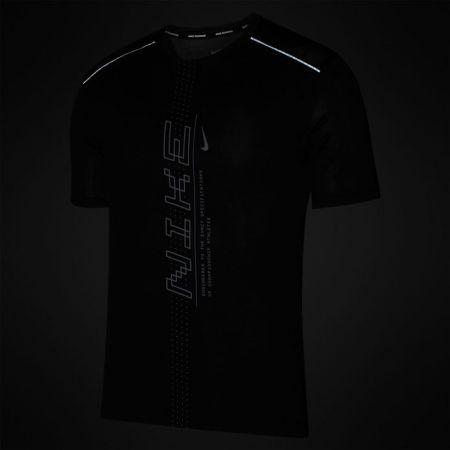 Tricou alergare bărbați - Nike DRY MILER SS PO GX FF M - 3